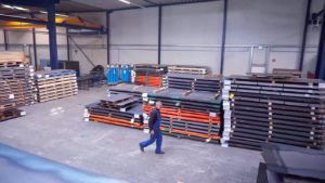 Bonke Metalltechnik Materiallager